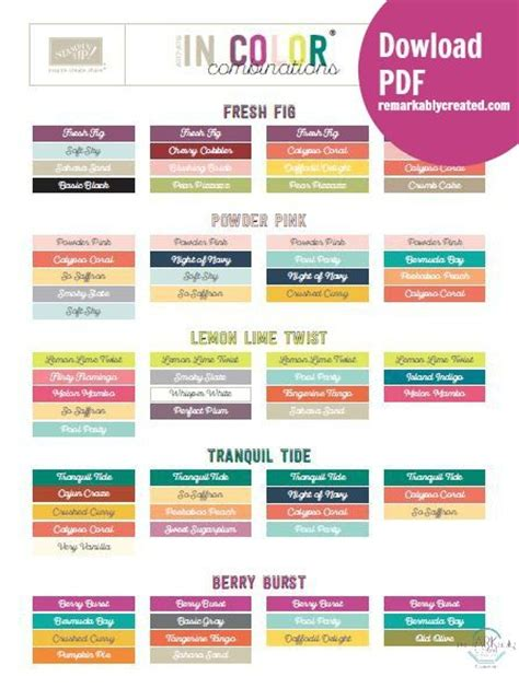 best color combinations from ms publisher 2013 1700 best stin up images on pinterest