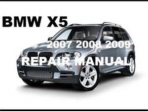 Bmw X5 Manual 2007 2008 2009 Bmw X5 Factory Repair Manual