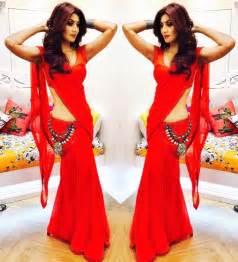 Shilpa Shetty In Saree Instagram 14 Dec 2016