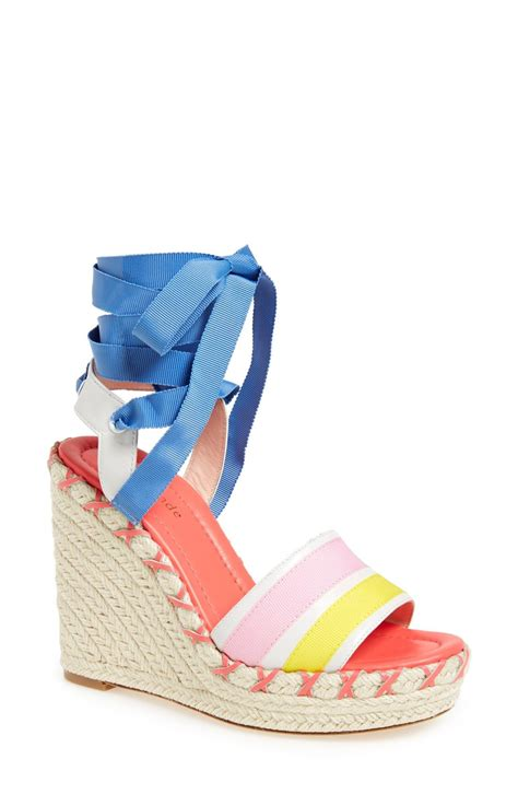 colorful wedge sandals these colorful wedge sandals by kate spade are for