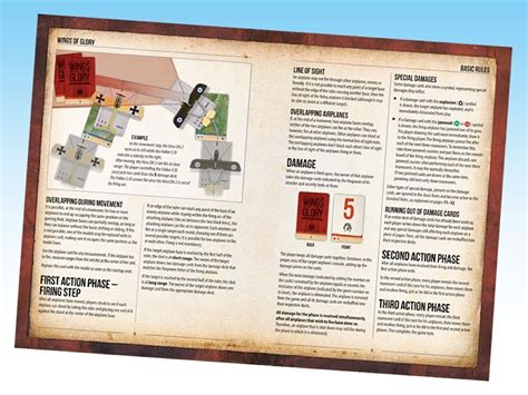 design game rules wings of glory world war i rules and accessories pack