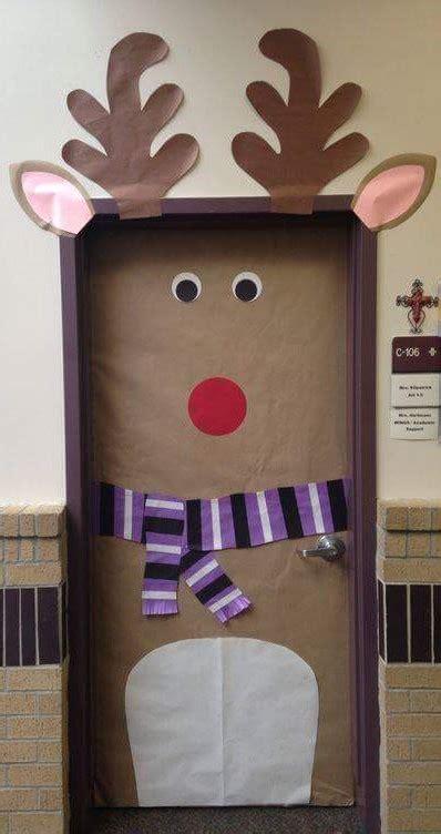 decorar puertas de navidad decoraci 243 n puertas de navidad 1 manualidades para ni 241 os