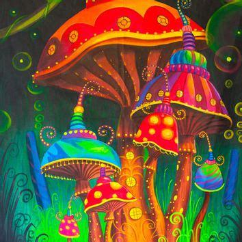 48 black light spencers shop painting on wanelo