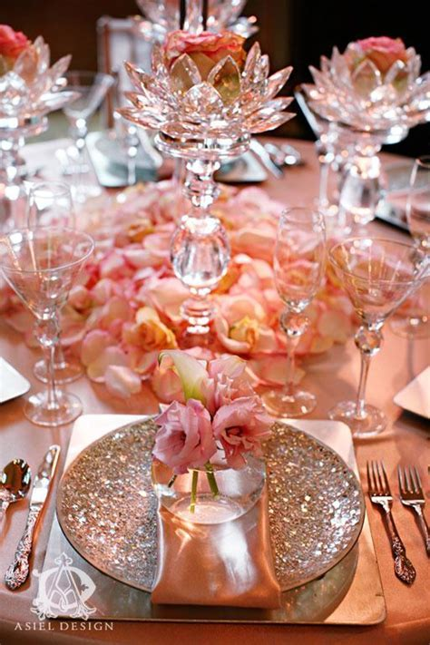 Beautiful Peach Tablescape ~ we this! moncheribridals.com