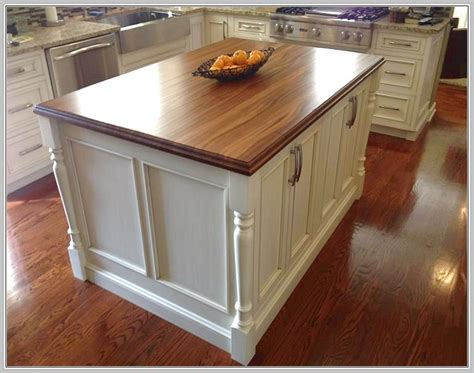 kitchen island countertop overhang support home design ideas