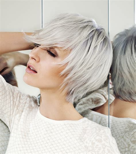 White Hairstyles by A White Hairstyle From The Reflections