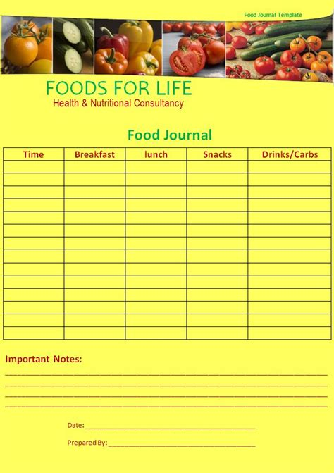 6 Best Images Of Food Journal Template Excel Diet Meal Plan Templates Printable Weekly Food Food Diary Template Excel