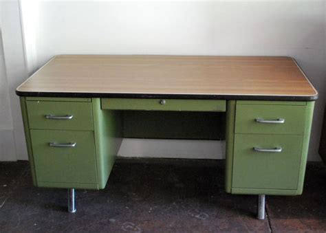 steel tanker desk for sale reserved superego78 vintage industrial green double