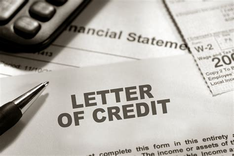 Financial Letter Of Credit Sle Letters Of Credit Family Bank