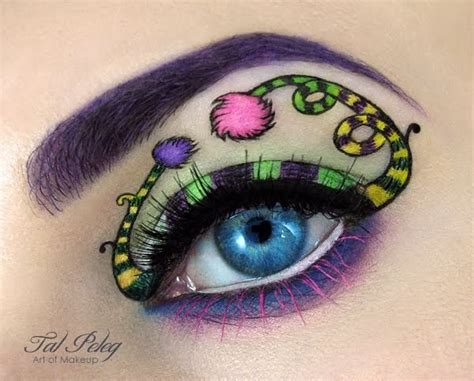 art design mascara the flying tortoise beautiful creative eye art by make up
