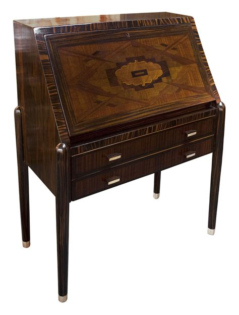 drop down secretary desk art deco secretary desk with drop down shelf and marquetry