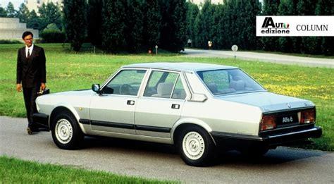 alfa romeo sedans column quot grote sedans alfa romeo quot auto edizione