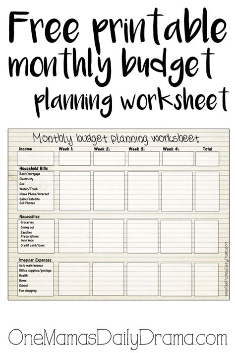 monthly budget planner weekly expense tracker monthly money management budget workbook expenses record planner journal notebook personal or budget expense ledger log book volume 1 books free printable monthly budget worksheet monthly budget