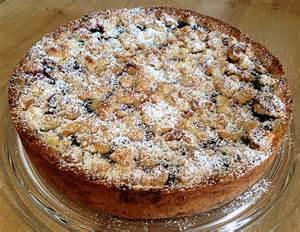 blaubeer kuchen blaubeerkuchen mit marzipanstreusel rezept mit bild