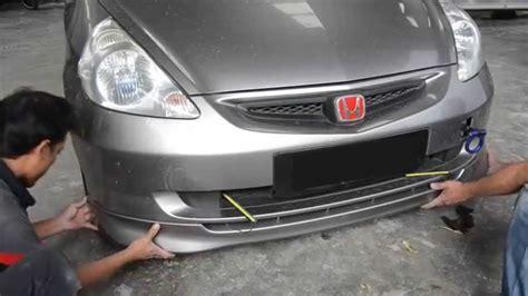 membuat video bumper bumper mobil berbahan plastik rusak perbaiki dengan cara