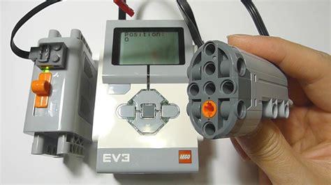 Lego 45503 Ev3 Medium Servo Motor lego ev3 controlling power functions servo motor 15