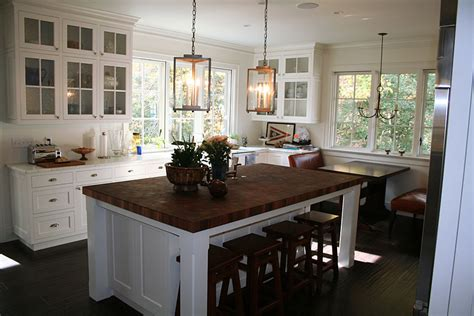 Custom Kitchen Islands by Sapele Mahogany Butcher Block Countertop In Edgewater Md