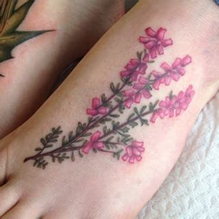 heather flower tattoo designs 17 best images about new on disney