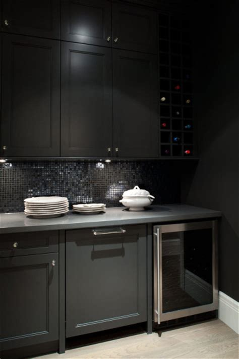 black glass backsplash kitchen kitchen cabinets contemporary kitchen