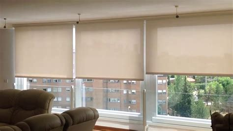 cortinas enrollables screen cortinas enrollables screen motorizadas youtube