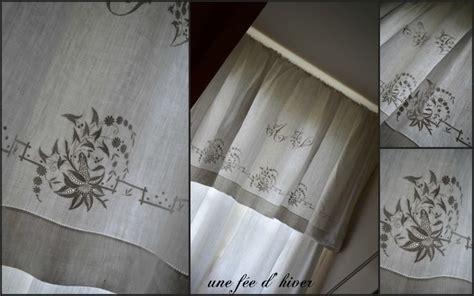 rideaux avec des draps anciens deco de charme
