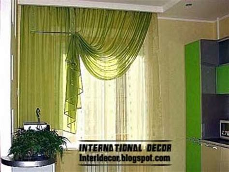 contemporary kitchen curtain ideas 2014 bright styles colors