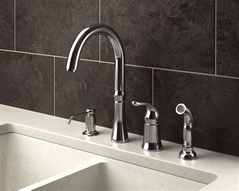 kitchen faucets 4 710 c chrome four kitchen faucet