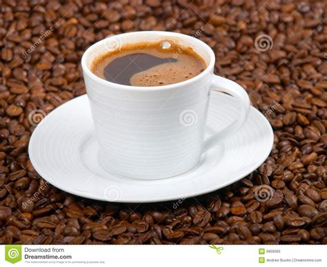 Coffe cup stock image. Image of java, coffe, beans, background   9956065