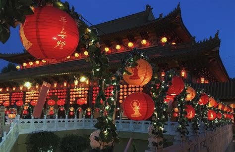 hsi lai temple new year peace lantern festival hsi lai temple and the religious landscape of los