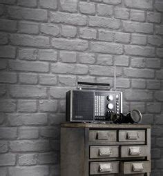 light grey wallpaper homebase brick wallpaper bricks and wallpapers on pinterest