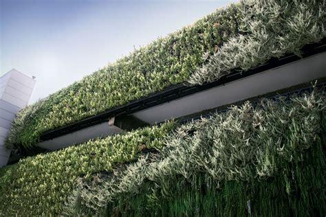 Vertical Garden Installation Atlantis Vertical Garden Installation On Multi Storey Car