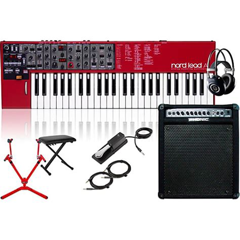 Pedal Keyboard Sustain Match Mp6 nord lead a1 analog modeling synth w keyboard matching stand headphones bench sustain