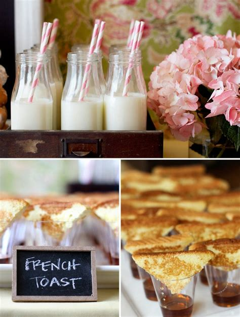 bridal shower brunch menu ideas bridal shower brunch ideas keeping it simple wedding fanatic