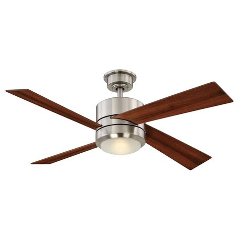 home decorators collection ceiling fan home decorators collection altura 56 in brushed nickel