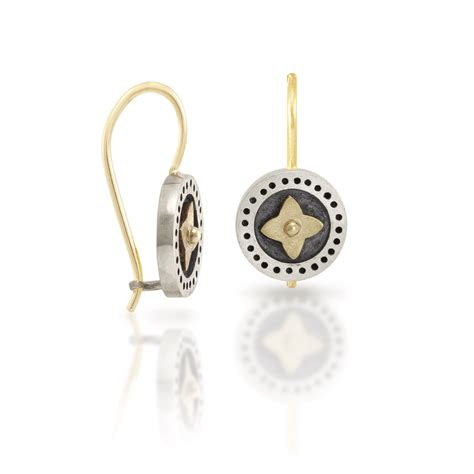 black and silver earrings gold shop scarab jewellery
