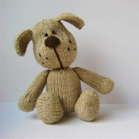 knitting patterns for puppies bernie the knitting pattern on luulla