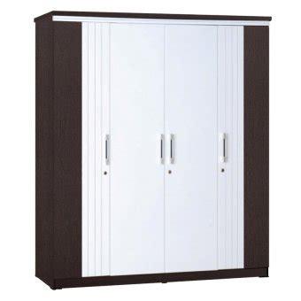 Lemari Portable Putih 4 2 4 Pintu best arion lemari pakaian serbaguna plastik 2 pintu