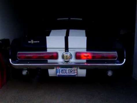 1967 mustang sequential lights 67 shelby sequential lights