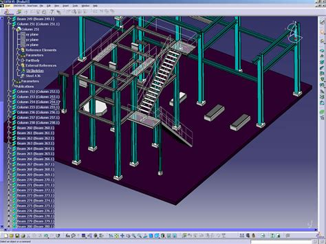 Reverse Floor Plan dms digital manufacturing solutions catia v5 structure