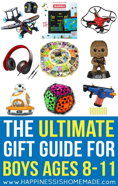 christmas shopping for 11 year old boy the best gift ideas for boys ages 8 11 happiness is
