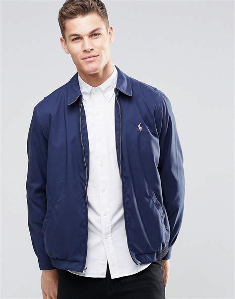 Jaket Harrington Jaket Harrington Murah Blue Navy fashion polo ralph jackets navy sale polo