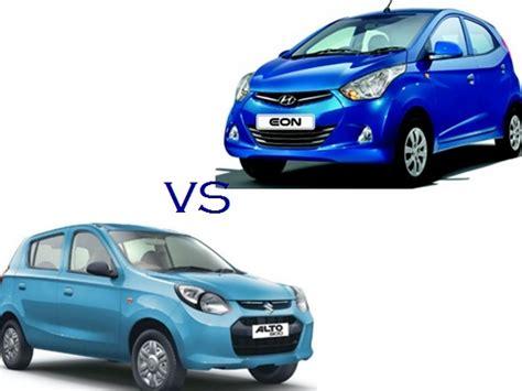 Maruti Suzuki Alto Specification Comparison Maruti Suzuki Alto 800 Vs Hyundai Eon Compare