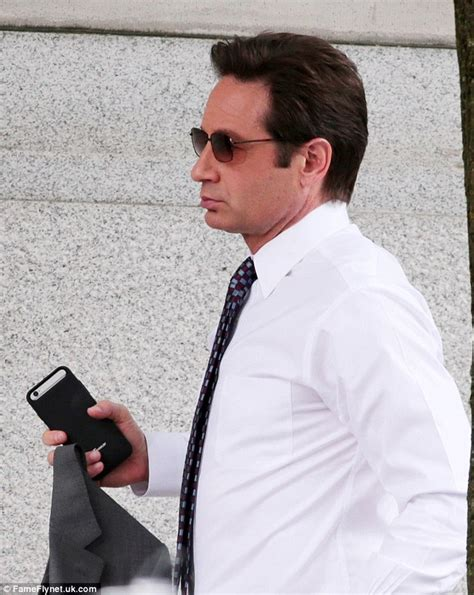 Duchovny Back On Tv by David Duchovny And Tea Leoni Enjoy Family Outing In La
