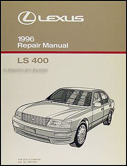 free auto repair manuals 1993 lexus es electronic valve timing free service manual of 1996 lexus ls lexus ls400 workshop manual complete 2000 free download