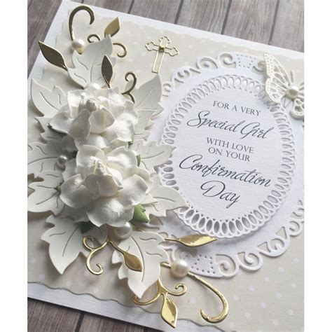 Handmade Communion Cards - handmade confirmation card