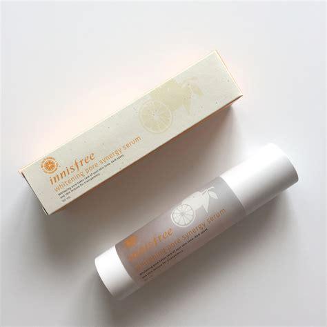 Harga Innisfree Whitening Pore Synergy Serum innisfree whitening pore synergy serum review