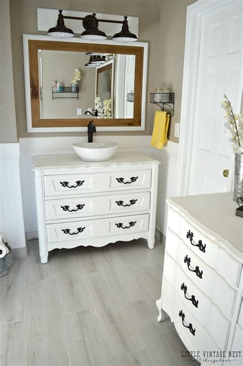 Dresser To Bathroom Vanity by 1000 Ideas About Dresser Bathroom Vanities On