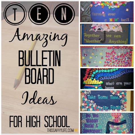 good themes english 10 amazing bulletin board ideas for high school this