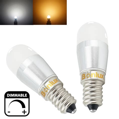 led appliance light bulbs dimmable led e14 fridge 3w 250lm refrigerator light