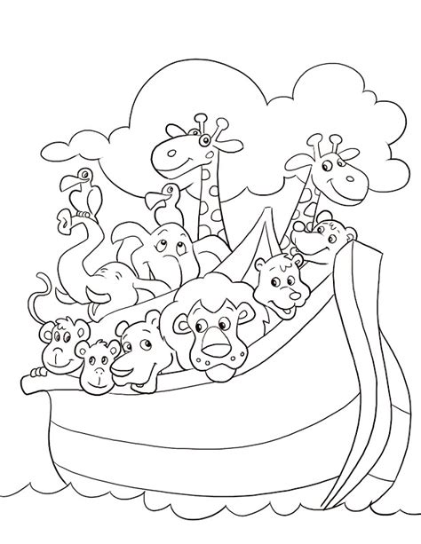 noah s ark coloring page animal coloring pages noahs ark coloring pages